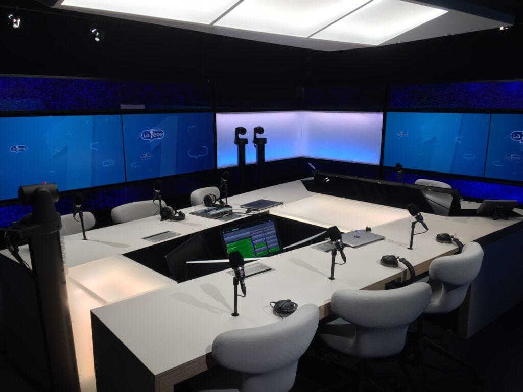 Studio radio La Première